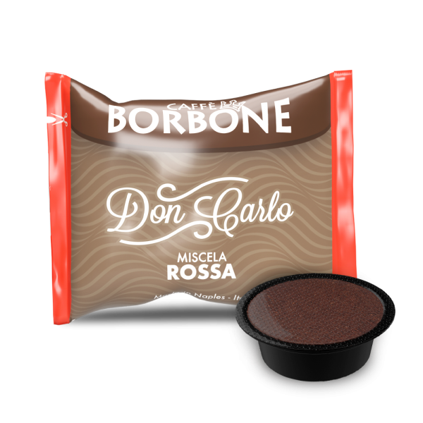 Kaffeekapseln Caffe Borbone Rossa Don Carlo Kompatibel Lavazza A Modo Mio
