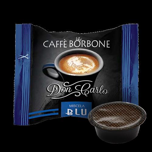 Kaffeekapseln Caffé Borbone Blu Don Carlo Kompatibel Lavazza A Modo Mio