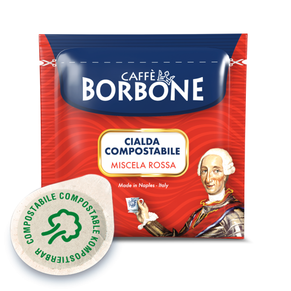 Caffe Borbone Miscela Rossa Espressopads ESE