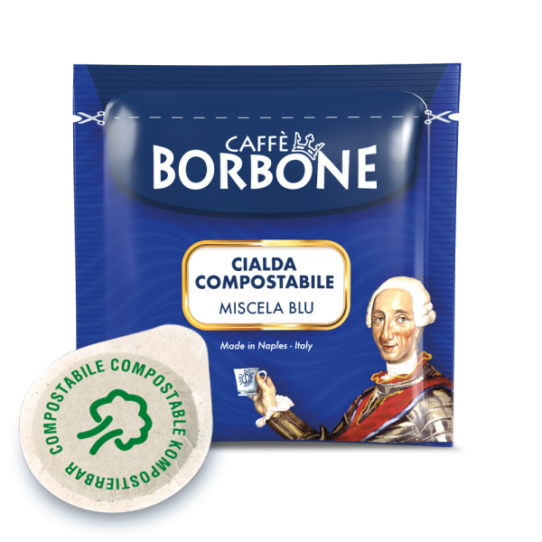 Caffe Borbone Miscela BLU Espressopads ESE