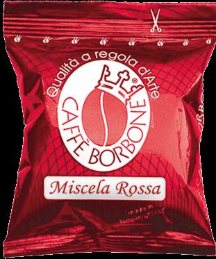 Caffé Borbone Kapseln Rossa kompatibel mit Lavazza point