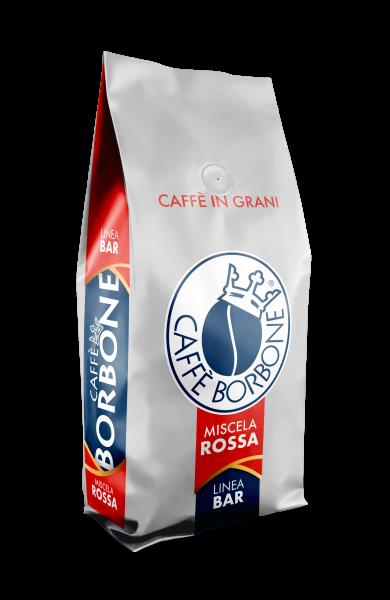 Caffe Borbone Rossa Gran Bar 1Kg Espressobohnen