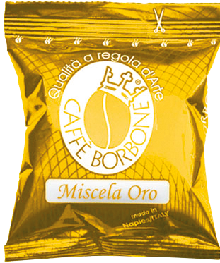 Caffé Borbone Kapseln Oro kompatibel mit Lavazza Point
