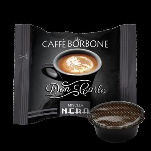 Kaffeekapseln Caffe Borbone Nero Don Carlo Kompatibel Lavazza A Modo Mio
