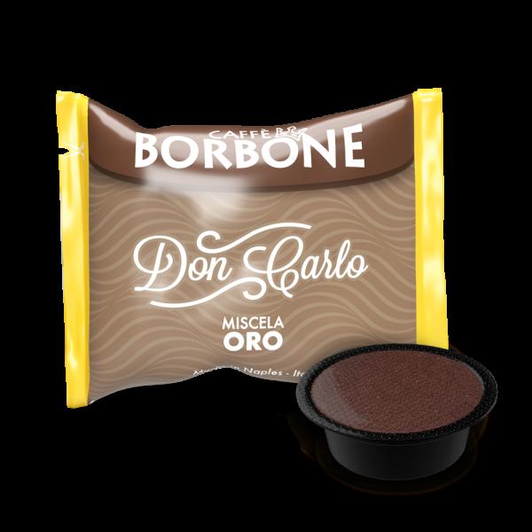 Kaffeekapseln Caffe Borbone Oro Don Carlo Kompatibel Lavazza A Modo Mio